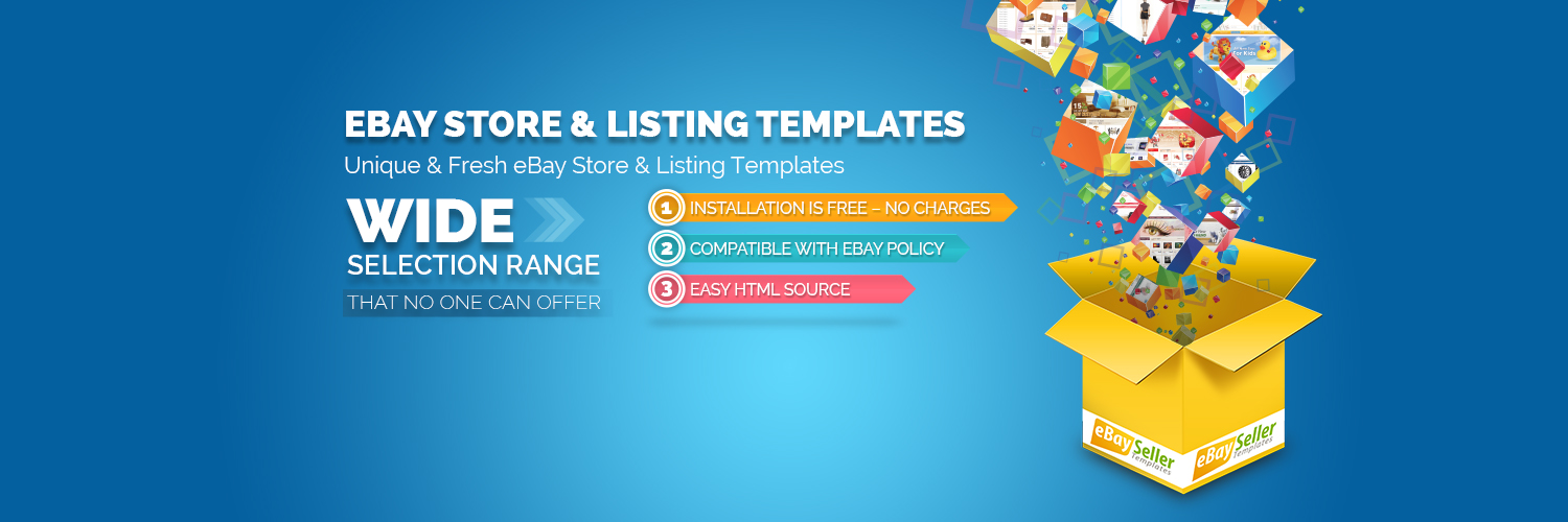 eBay Storefront Templates – A Perfect Solution for eBay Sellers -